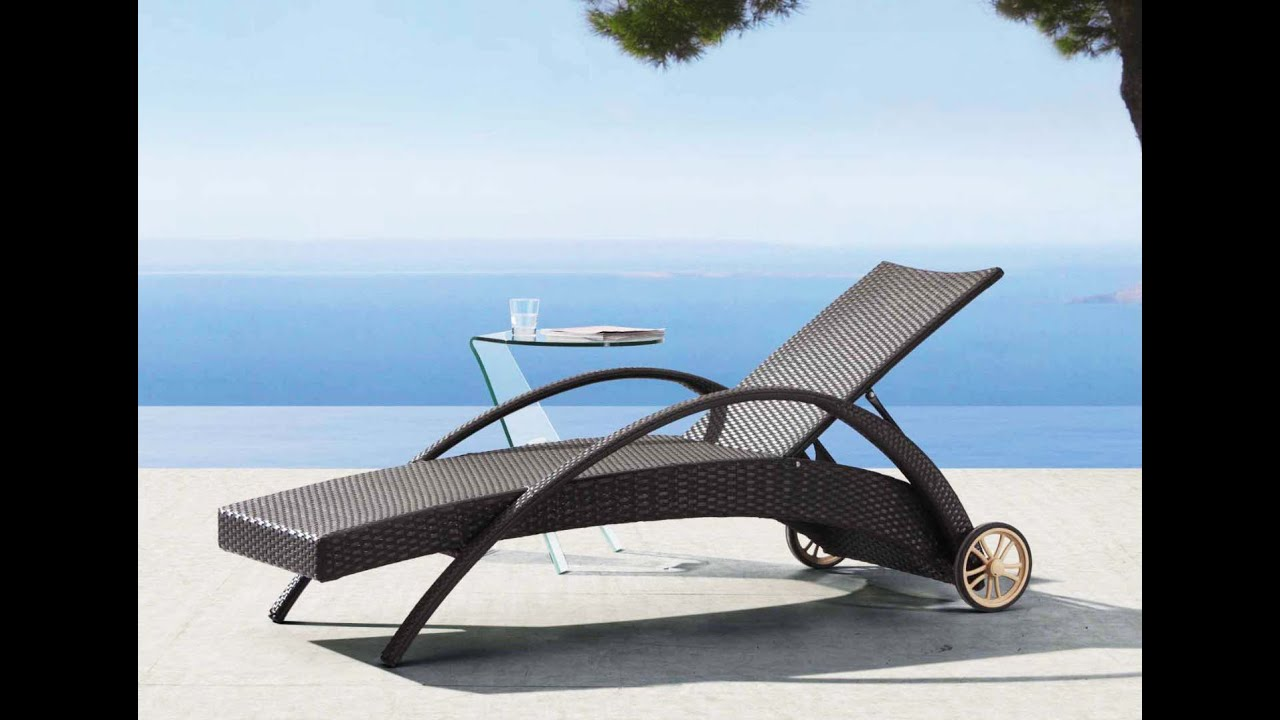 Lounge Chair Outdoor | Outdoor Lounge Chair   YouTube