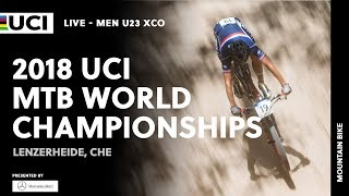 2018 UCI Mountain Bike World Championships presented by Mercedes-Benz-Lenzerheide (CHE)/Men U23 XCO