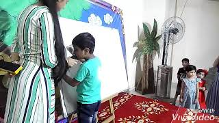 Children presented their academic knowledge to their parents - park view public school