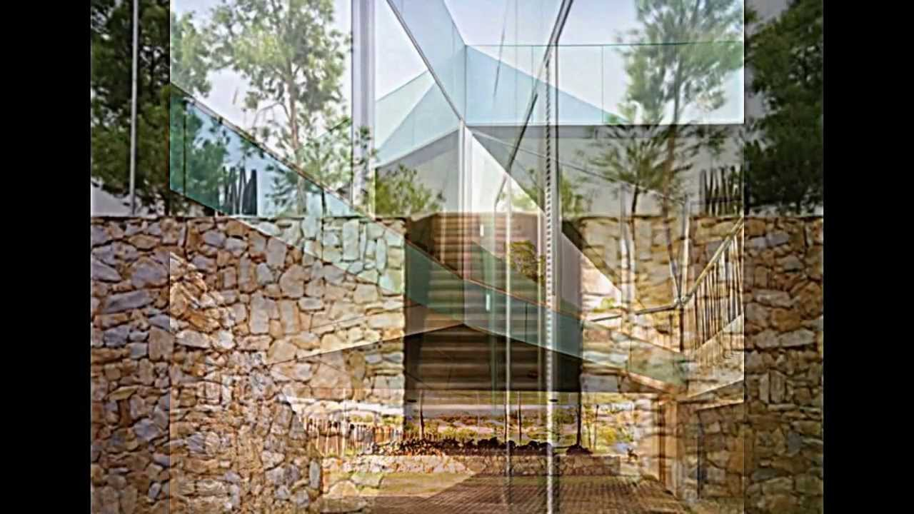 Minimalistisches Haus mit idyllischer Lage mitten im Kiefernwald ...