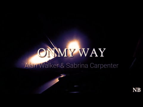 on-my-way-||-alan-walker-&-sabrina-carpenter-[nael-bagas-piano-cover]