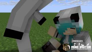 minecraft animation girl vs entity 303 ((friends story)) [[español MADAFAKAS]]