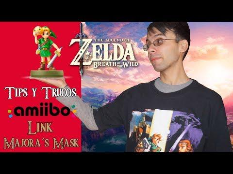 The Legend of Zelda: Breath of the Wild | Tips y Trucos | Amiibo Link Majora's Mask