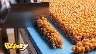 Oranda Snack / Sinpo Market, Incheon Korea / Korean Street Food / 도라강정 오란다 / 인천 신포시장 신포총각강정