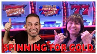 Spinning For GOLD 🎡WHEEL👍OF💰FORTUNE! w/ Diana Evoni! 🐃Buffalo MAX🚣Venetian LAS VEGAS ✦ BCSlots