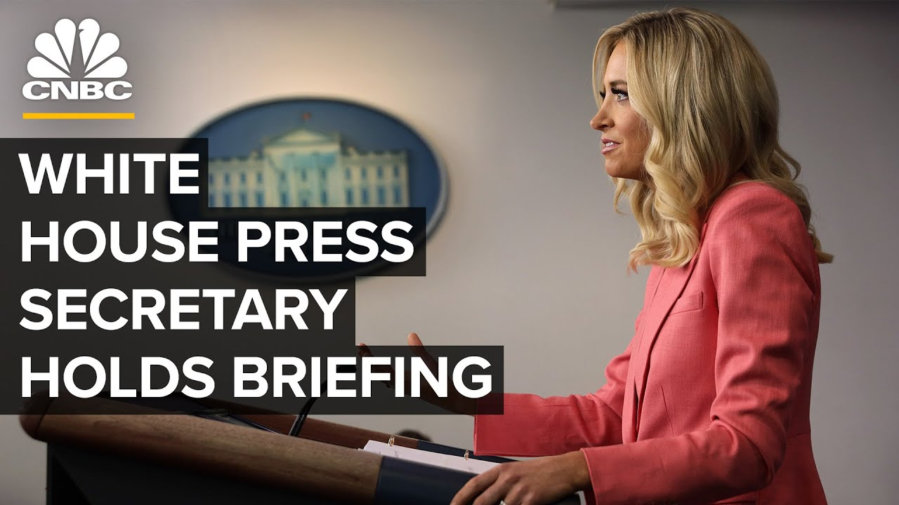 White House Press Secretary Kayleigh McEnany holds briefing — 7/1/2020