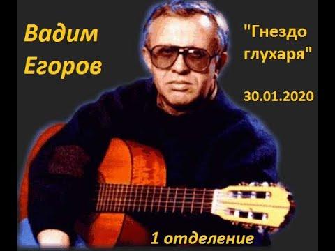Вадим Егоров, концерт