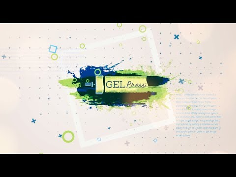 Gel Press 2018 Creativation Artist Demonstrators Reveal