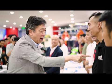 Tổng Giám đốc Honda Việt Nam ông Keisuke Tsuruzono Tới Thăm Và Làm Việc Tại Honda Kường Ngân