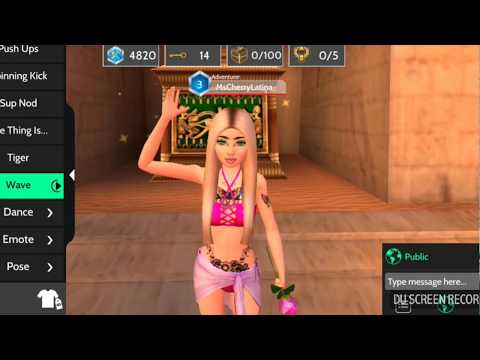 Avakin Life How To Find All 5 Scarab Pieces and Grand Prize Key