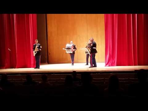 3rd Marine Aircraft Wing Party Band UNM 2014 Part 1