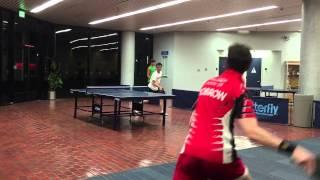 Adam Bobrow 2014 Table Tennis Highlights