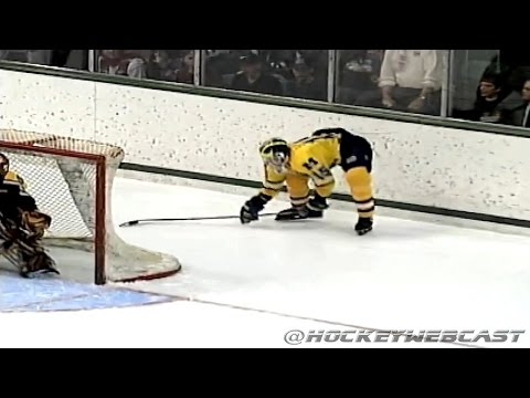 Mike Legg - 'The Michigan Goal' - Full Sequence - March 24, 1996 (High Quality)