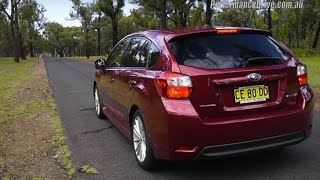 2015 Subaru Impreza 2.0i-S (CVT) 0-100km/h & engine sound. Head ove...