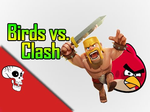 Angry Birds vs Clash of Clans Rap Battle by JT Music