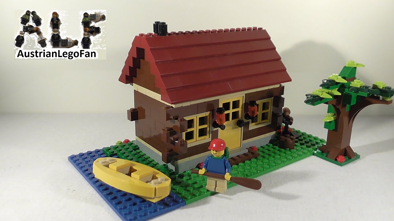 Lego Creator 5766 Log Cabin Blockhaus Lego Speed Build