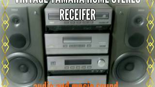 Vintage Yamaha Home Stereo Receivers (CC-90)