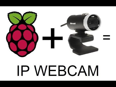 Raspberry Pi IP Webcam Tutorial