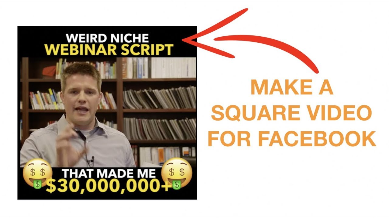 How To Make A Square Facebook Video Meme On Mac Pc Youtube
