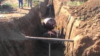 Управляемо хоризонтално сондиране, газопровод Гърция(В това видео ще видите приложение на безизкопната технология Управляемо хоризонтално сондиране, при монта..., 2012-10-03T15:11:07.000Z)