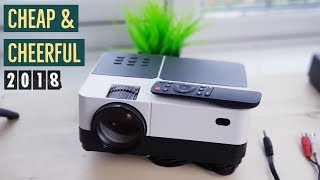 480p Projectors In 2018 Are They Any Better? H2 Mini Projector Review