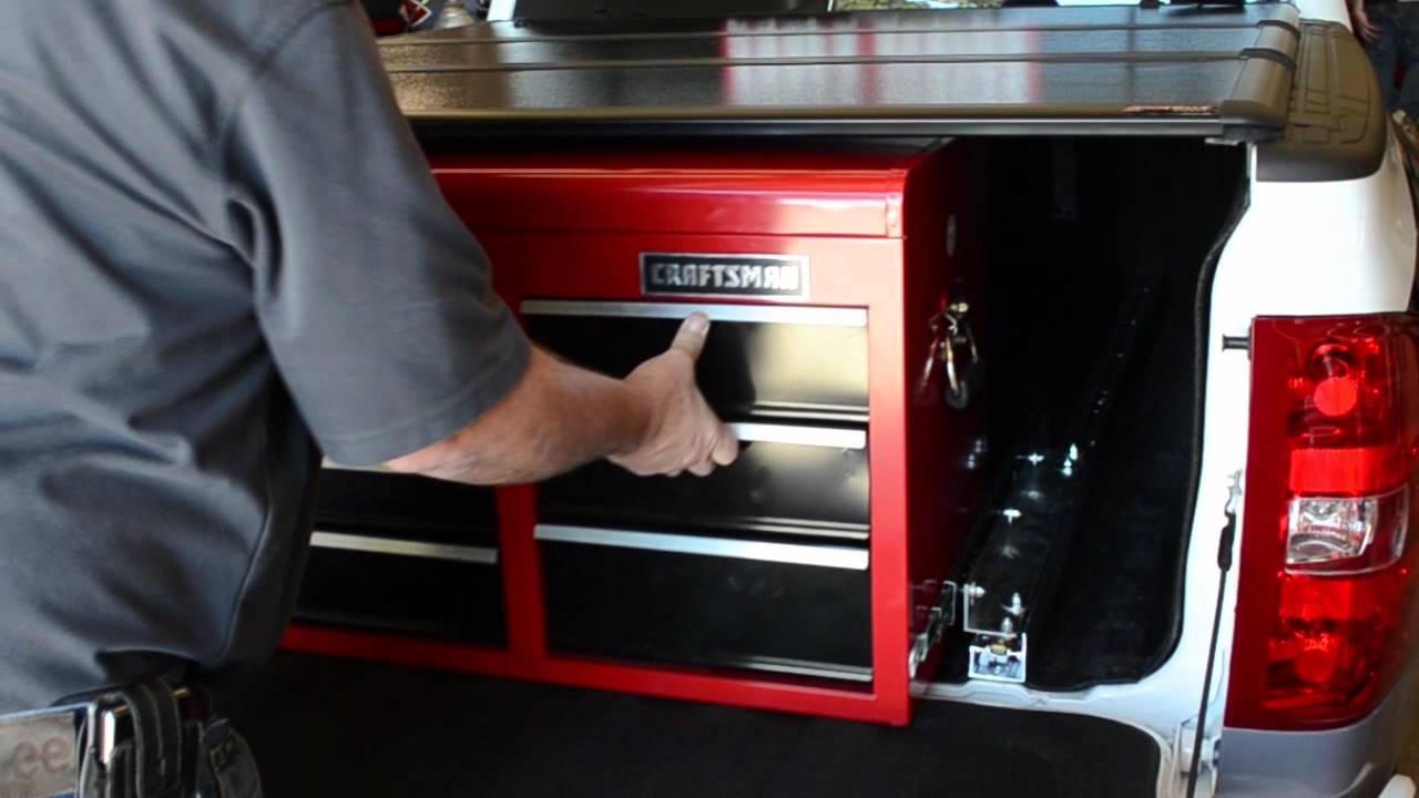 Tool Box Covers >> CRAFTSMAN Ultimate Truck Buildout 2011 - Tool box, interior, BURNOUT!!! - YouTube