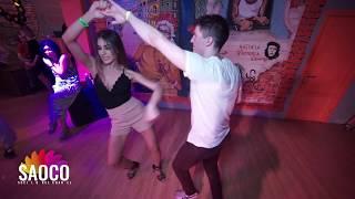 Sergey Shepilov and Marina Piatnitsyna Salsa Dancing at Respublika Days 9, Thursday 02.05.2019 (SC)
