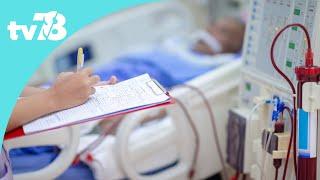 En immersion … dans le service dialyse de l'hôpital de l'ouest parisien