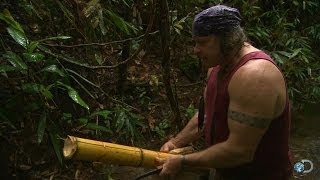 DIY Survival: Make a Bamboo Container | Dual Survival