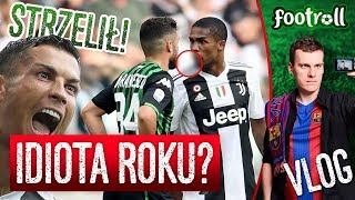 Piłkarski idiota roku...   Ronaldo nie chciał hattricka
