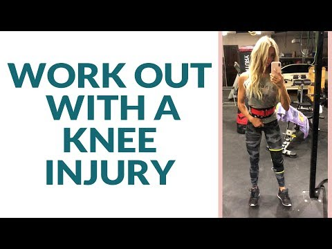 How to Work Out with a Knee Injury