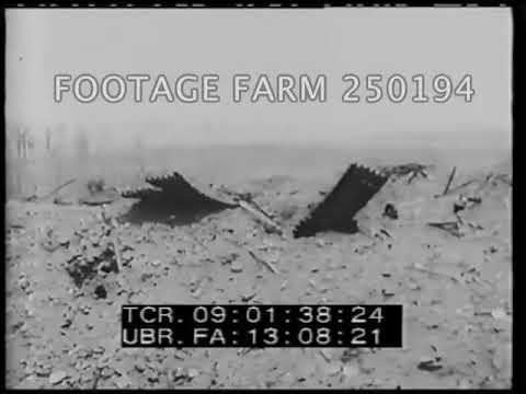 WWI Capture Of Messines - 250194-07 | Footage Farm Ltd