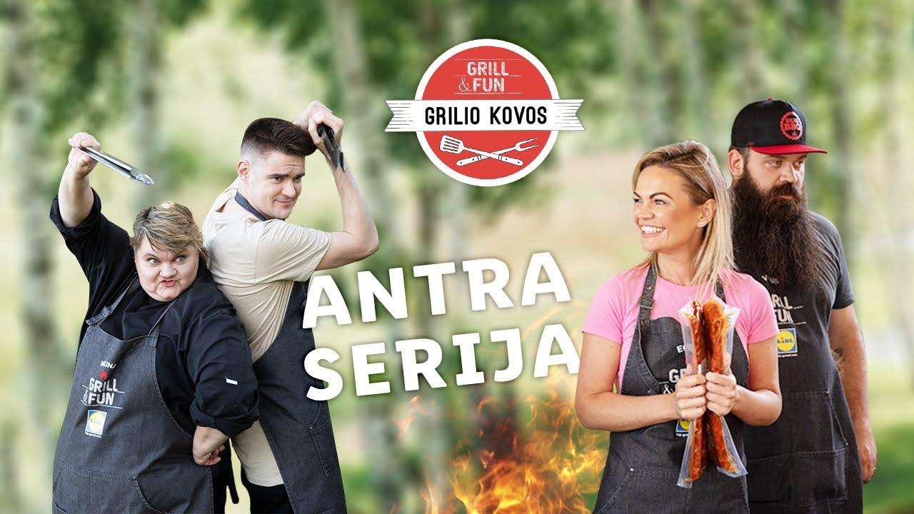 """""""Grilio kovos"""" 2020 – Eglė prieš Paulių! Antra serija"""
