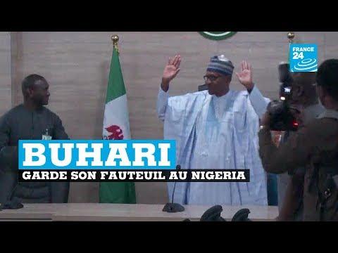 Muhammadu Buhari réélu pour un mandat de quatre ans au NIGERIA