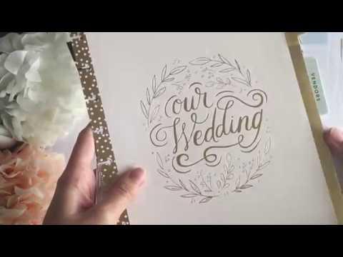 Happy Planner Mambi Insert Extension Wedding Big Day