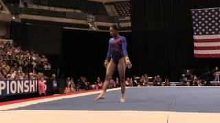 Gabrielle Douglas – Floor Exercise – 2015 P&G Championships – Sr. Women Day 1