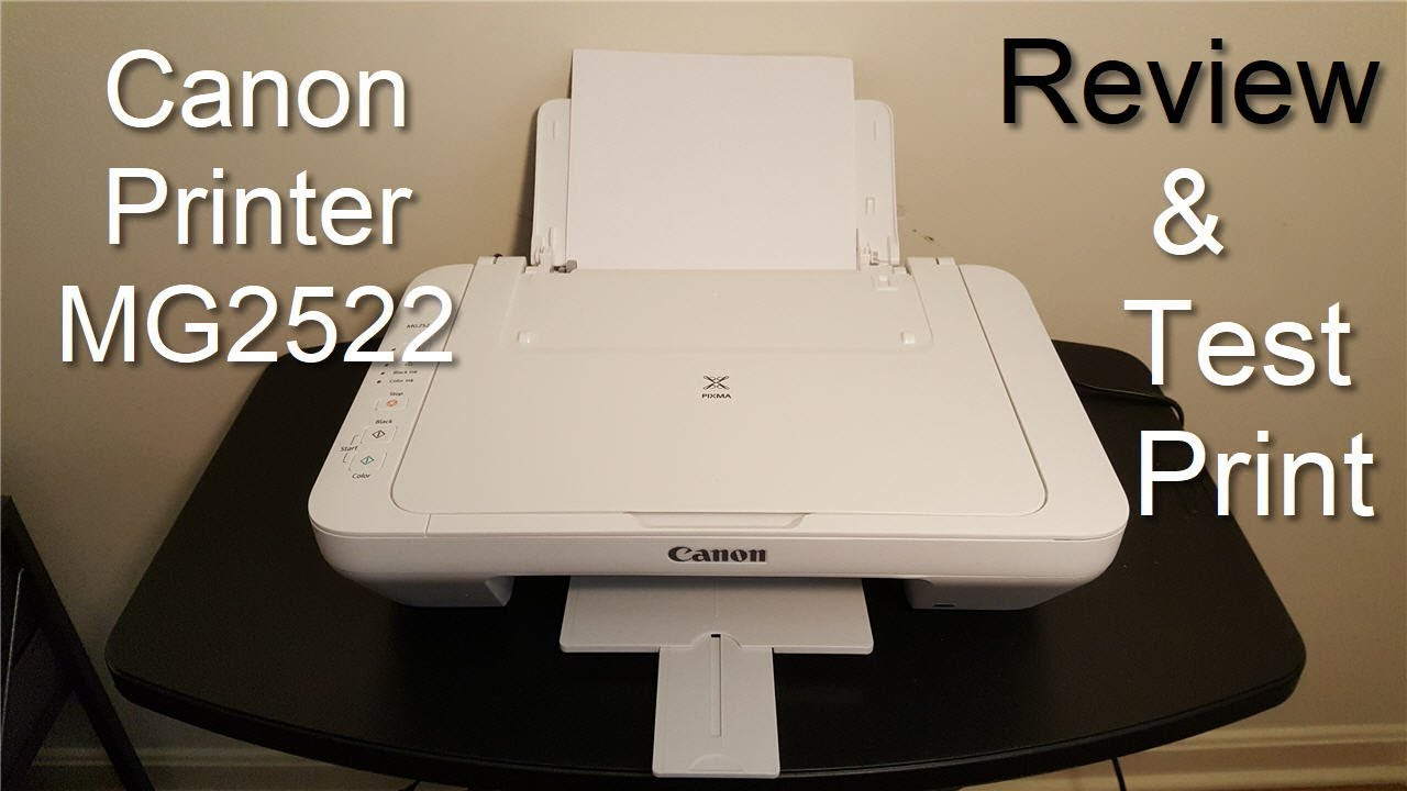 Canon PIXMA MG20 Printer Review & Print Test   20   Not a Unboxing  Video