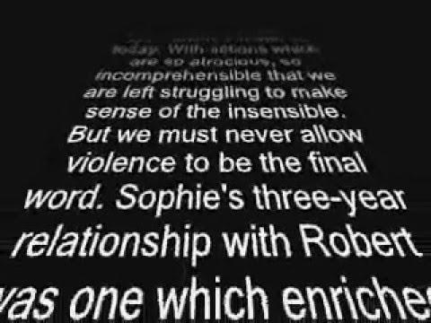 Sophie Lancaster's Funeral