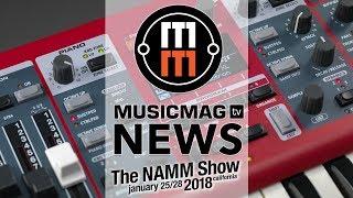 Новости NAMM 2018 - Nord Electro 6, Adam T-series, модульный микшер и др.