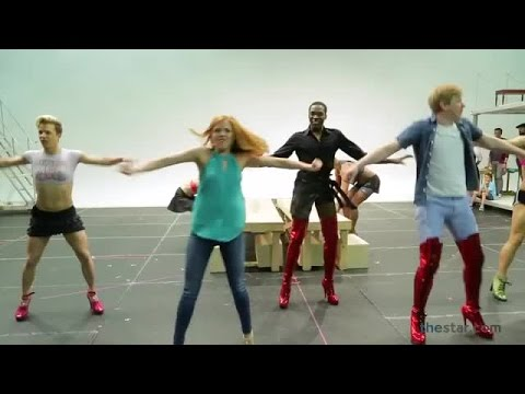 Kinky boots are made for strutting