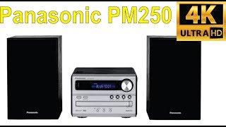 Review of the Panasonic SC PM250 Hi Fi system