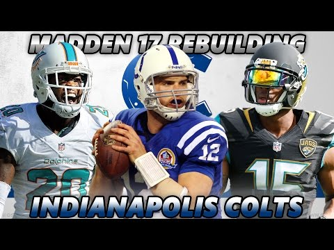 Madden 17 Connected Franchise | Rebuilding The Indianapolis Colts | ELITE SECONDARY!