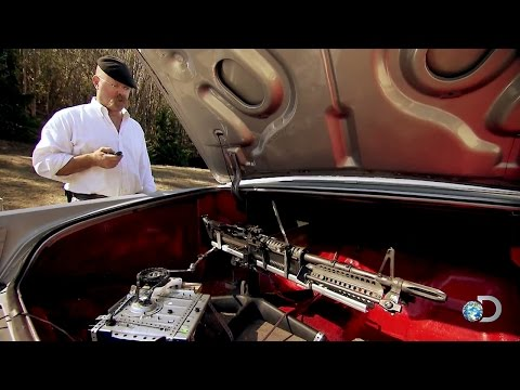 Breaking Bad M60-in-the-Trunk Setup | MythBusters