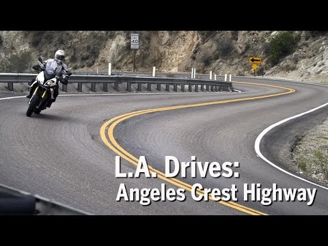 L A  Drives  Angeles Crest Highway