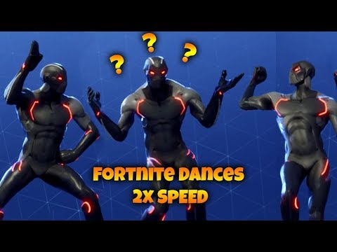 Fortnite Dances But They are 2x Faster!