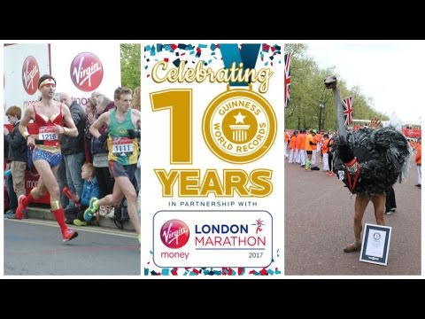 10 years of record breaking at the London Marathon - Guinness World Records