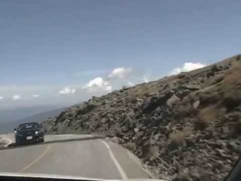 "Mount Washington - White knuckle ""Road to the Sky"""