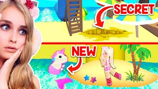 *NEW* SECRET BEACH Under POOL PARTY In Adopt Me! (Roblox)