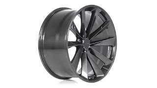 TSW Alloy Wheels - Aileron in Metallic Gunmetal