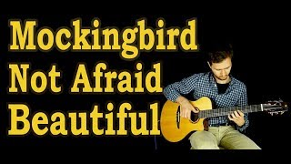 Eminem - Fingerstyle guitar - (Beautiful, Mockingbird, Not Afraid, Till I Collapse) + TABS